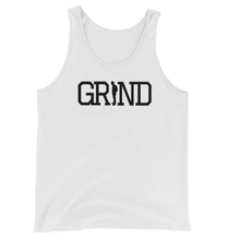 Load image into Gallery viewer, GRIND - White Tank Top