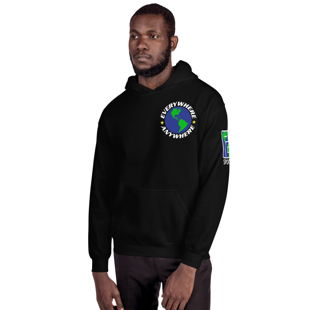 Worldwide Everywhere & Anywhere Hoodie