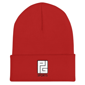 Outline Red Black - Beanie