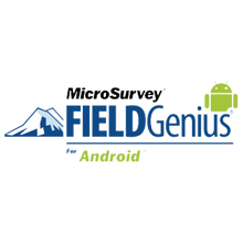 Load image into Gallery viewer, MicroSurvey FieldGenius Logo