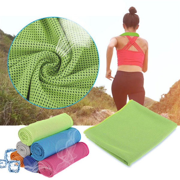 Instant Cooling Towel (Set of 3)