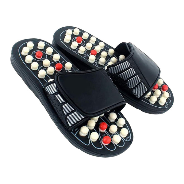 Acupoint Rotating Foot Massage Slippers