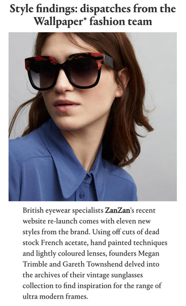 Zanzan GILOT Sunglasses Limited Edition