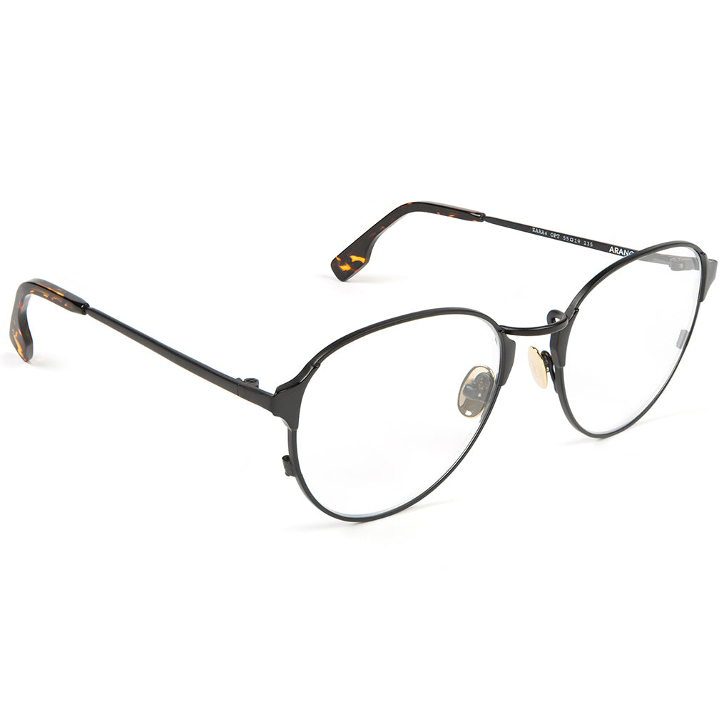 Zanzan Round Metal Black Optical Eyewear