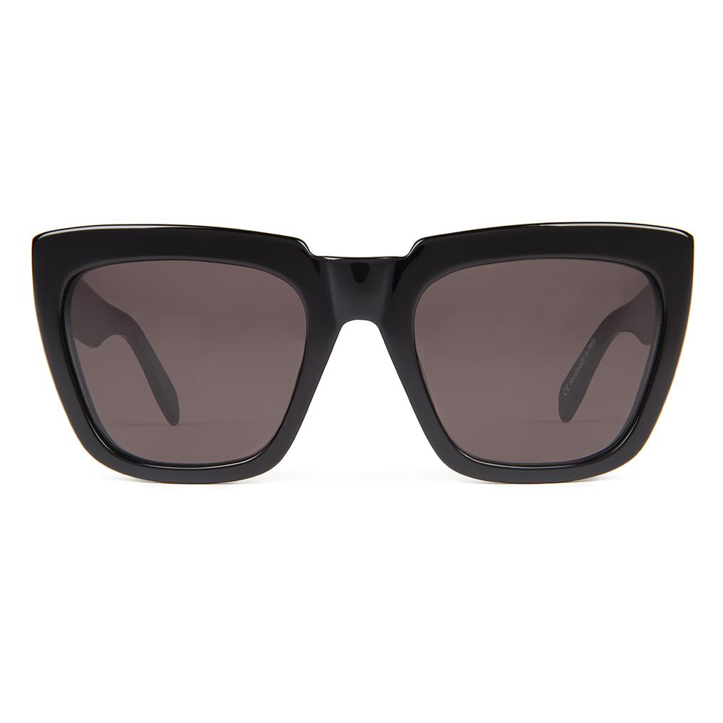 Zanzan Square Black Sunglasses
