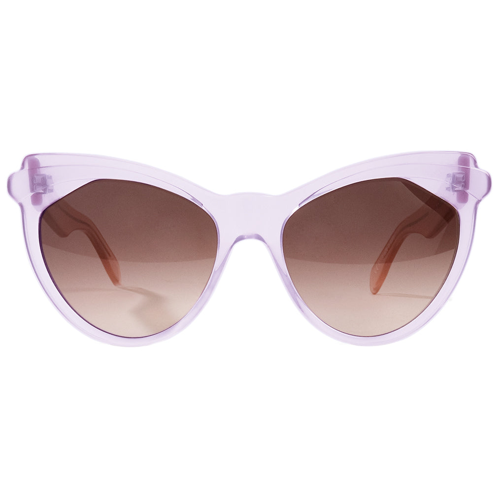 Zanzan Lilac Cat-eye Sunglasses