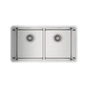 Sink with Two Basins Teka RS15 115030007 Stainless steel