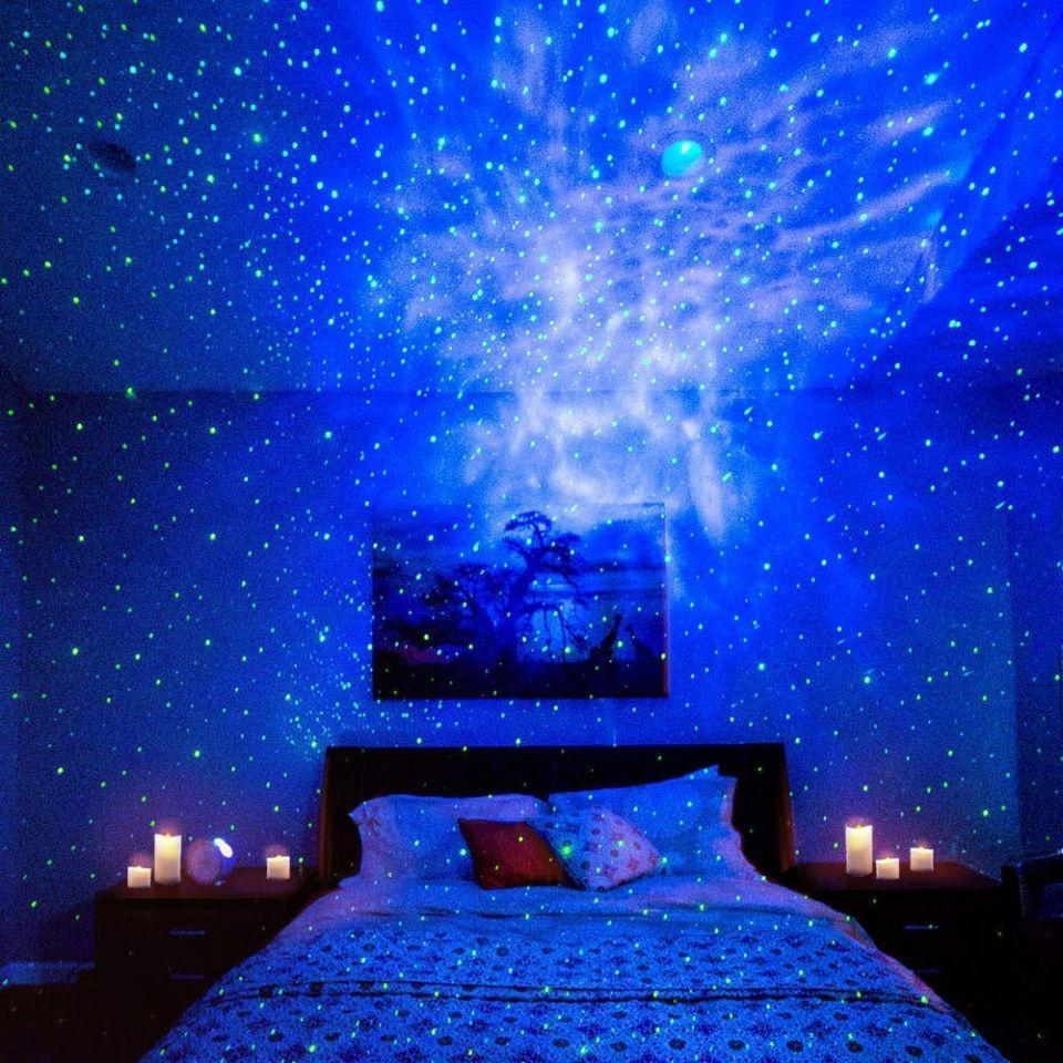 Galaxy Light Projector™ - Best Star Light for Family Entertainment - lionthelabel - Galaxy Projector - -