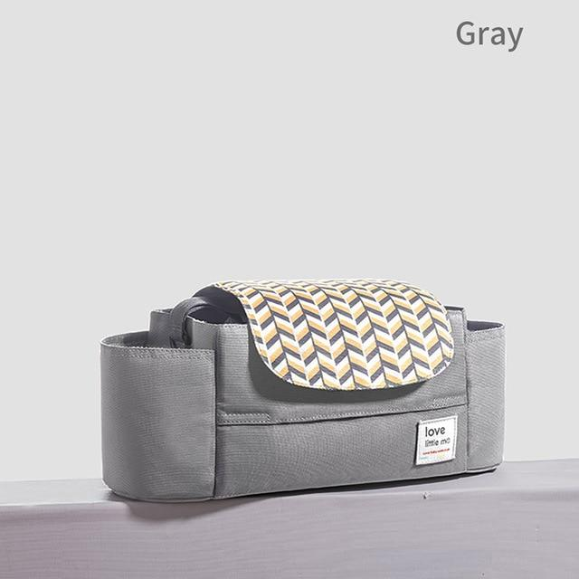 Love Little Me Portable Nappy Organiser Bag - SALE - lionthelabel - Nappy Bag - Grey - Australia -