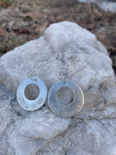 Load image into Gallery viewer, Many Spiral Suns Dangle Earrings