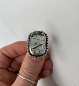 Pastel 'Branches' Ring