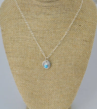 Load image into Gallery viewer, Small Turquoise Pendant Necklace