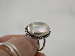 Opalescent Cocktail Ring