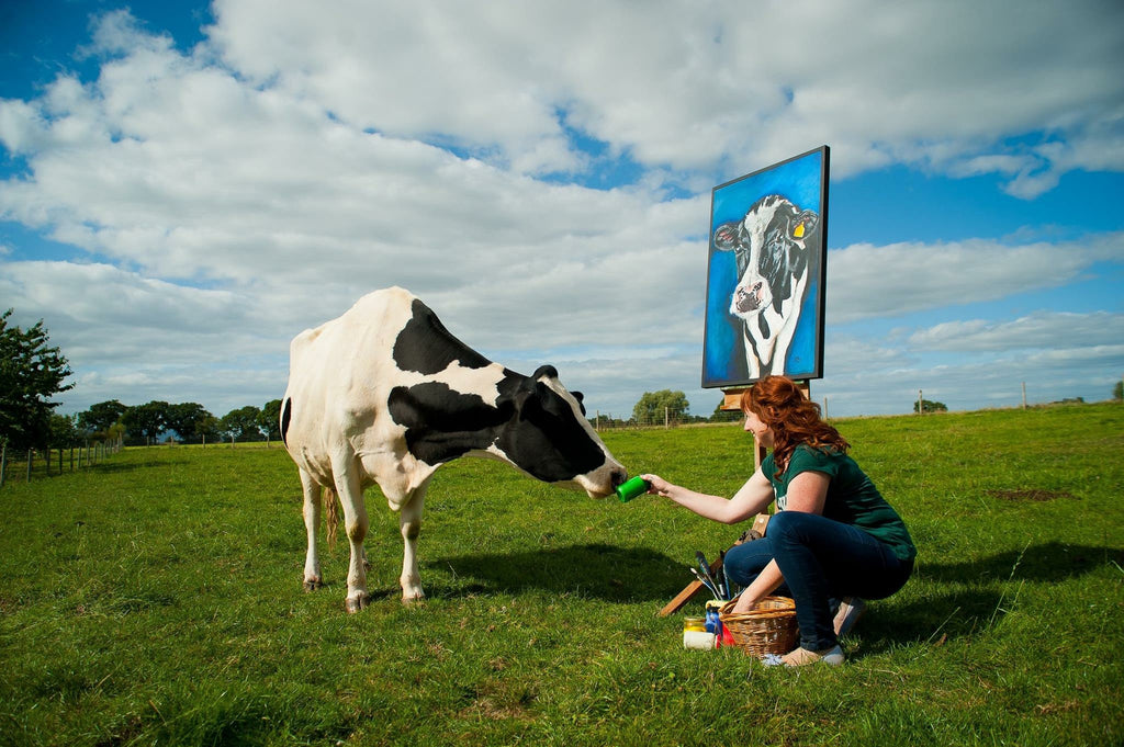 I'm a cow artist - how did that happen?