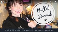 How to create a bullet journal - Vlog #47