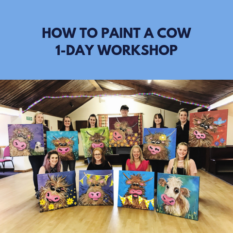 How to paint a cow 1-day workshop