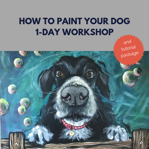 How to paint your dog workshop