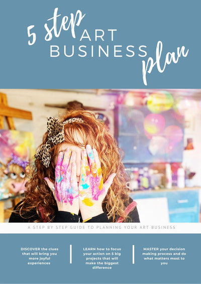 5-Step Art Business Plan