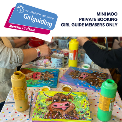 PRIVATE BOOKING  Mini Moo workshop (MEMBERS ONLY)
