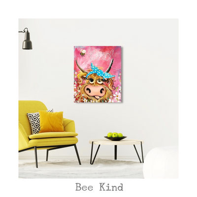 """Bee Kind"" - the original painting"