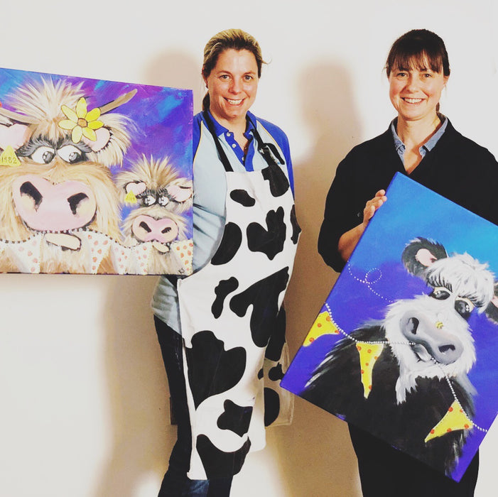 "1-Day ""How to paint a cow"" Workshop"