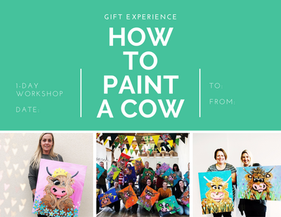 Painting Workshop Gift Experience Downloadable (free)