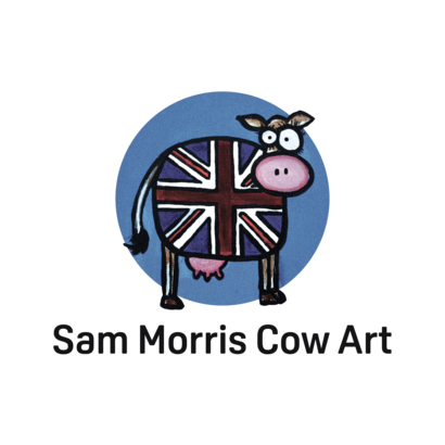Sam Morris Cow Art