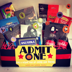 movie hamper gifts for birthday