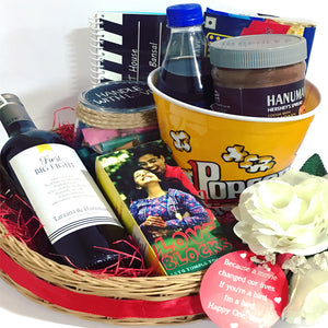 movie hamper gifts for anniversary