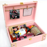 Load image into Gallery viewer, personalised leather trunk