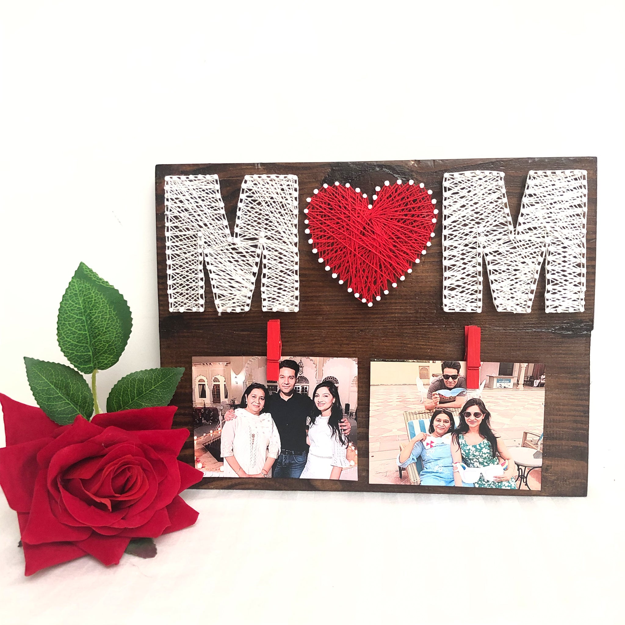 mom thread art gift for mothers day