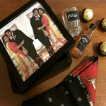 Load image into Gallery viewer, personalised photo wooden box for groom to be