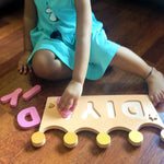 Load image into Gallery viewer, personalised name puzzle for kids