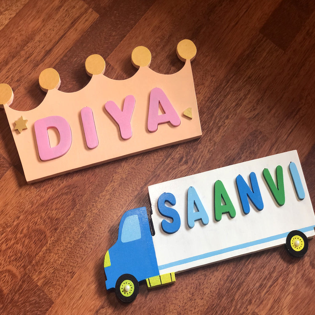 personalised name puzzle for kids