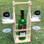 Load image into Gallery viewer, Chalkboard Wine Glasses