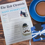 Load image into Gallery viewer, personalised newspaper for fathers day