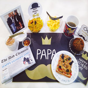 personalised newspaper for fathers day
