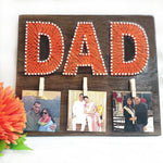 Load image into Gallery viewer, dad thread art gift for fathers day
