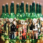Load image into Gallery viewer, personalised fairy light bottle gift
