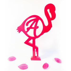 flamingo stand for kids girl's room decor