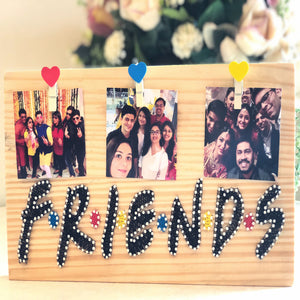 friends thread art gift