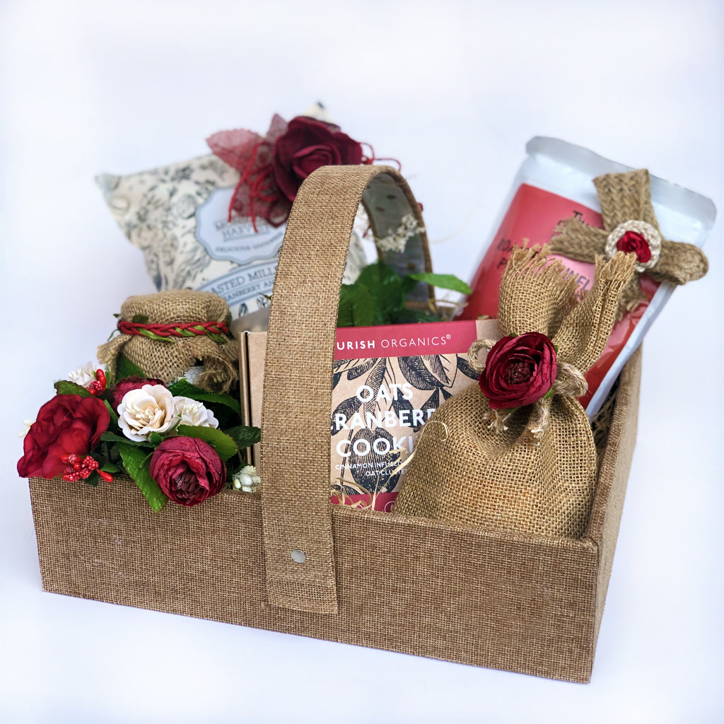 food hamper for diwali gift festive mood