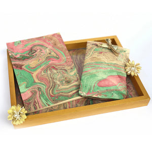 marble tray hamper for gifting