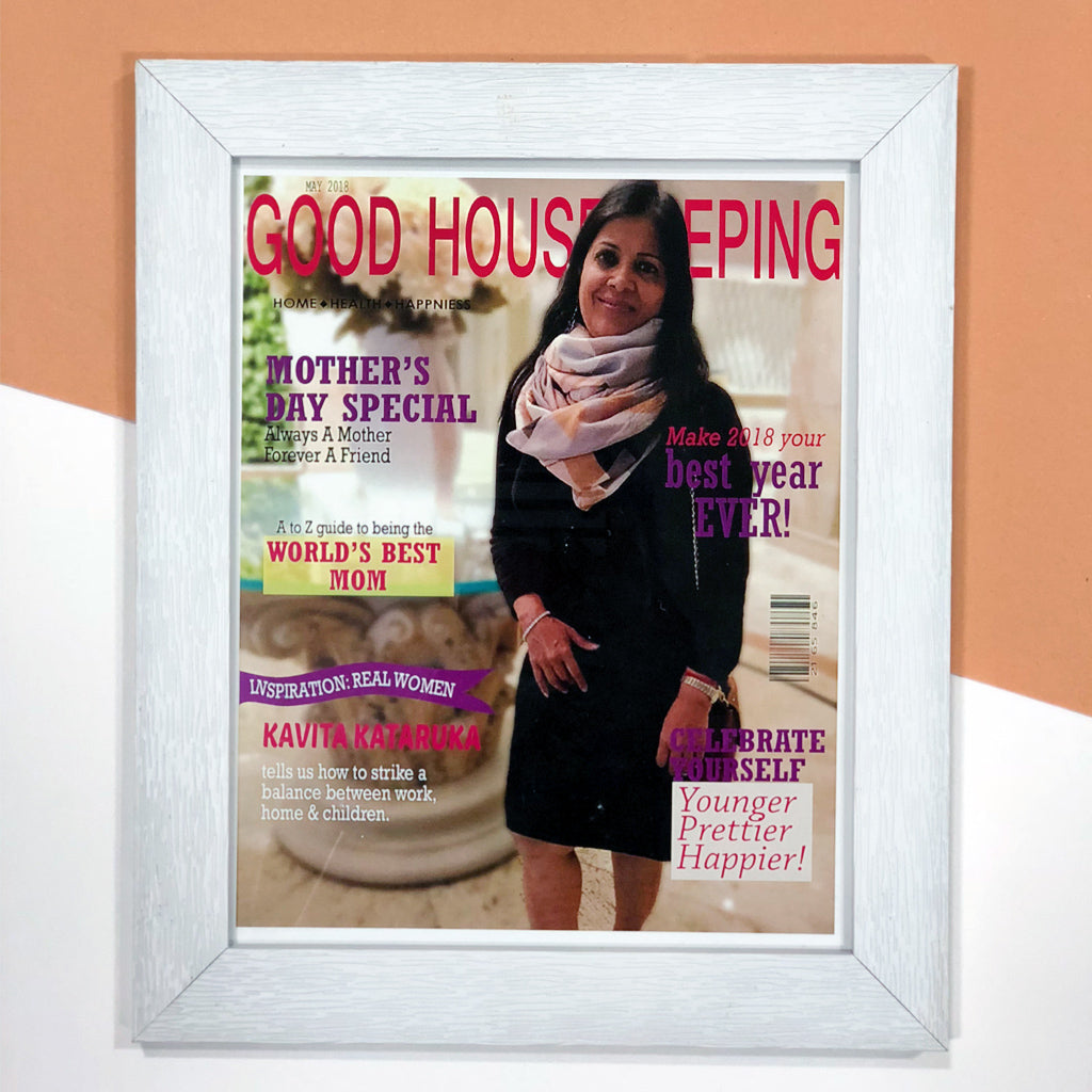 personalised magazine cover for mothers day