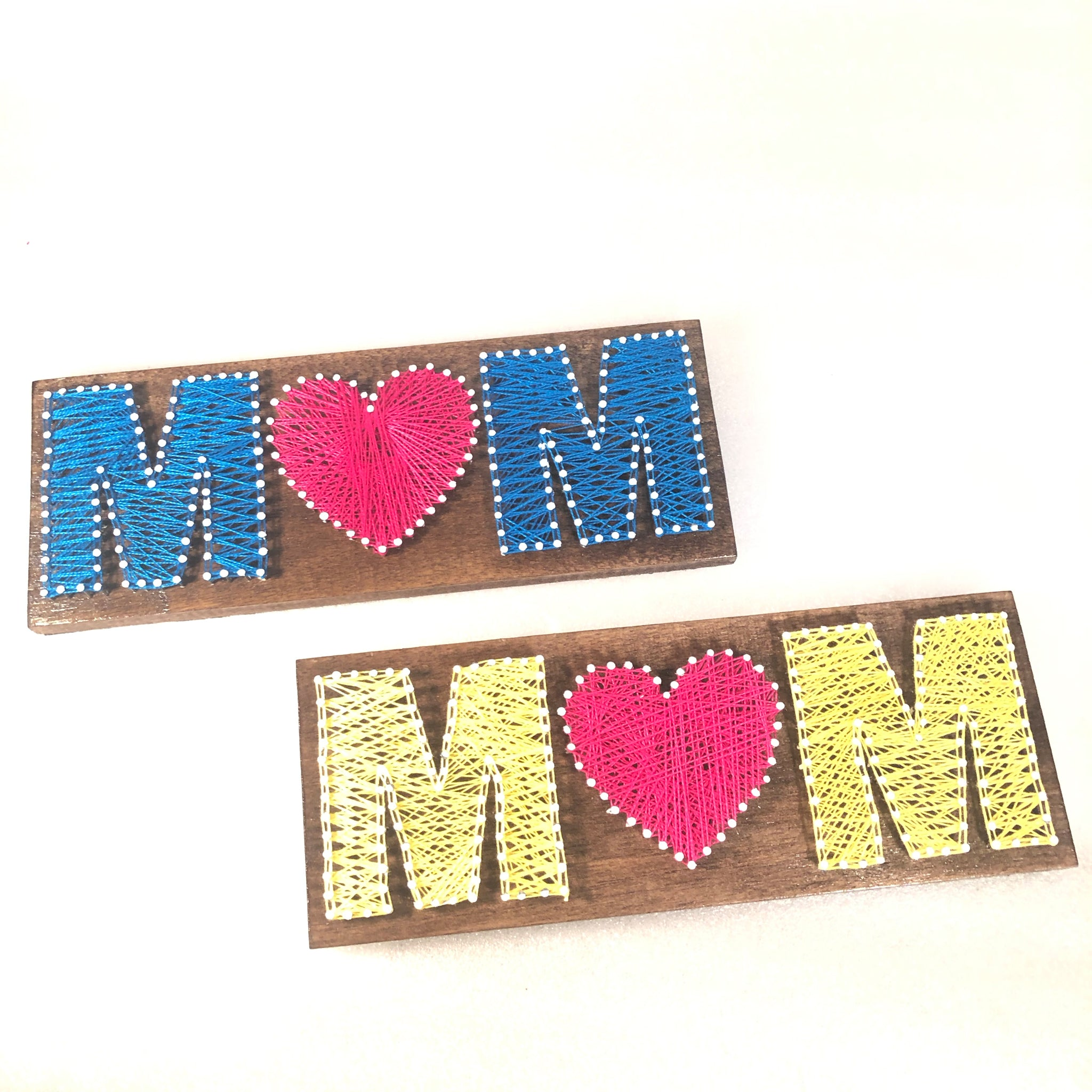 mom thread art gift