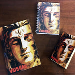 Load image into Gallery viewer, shiva themed customised notebook