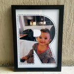 Load image into Gallery viewer, personalised letter frame for kids