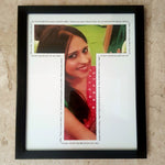Load image into Gallery viewer, personalised letter frame for birthday gift