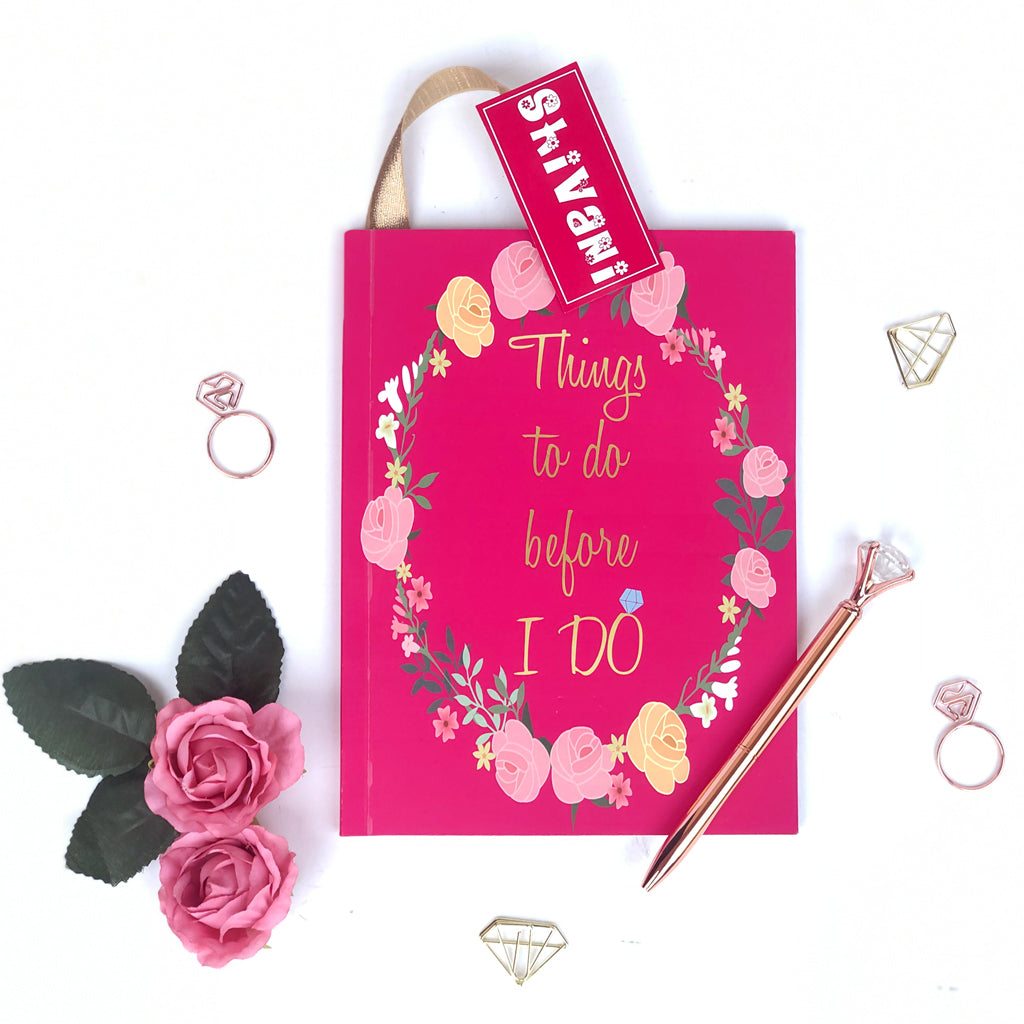 Bridal planner for the beautiful bride to be gift