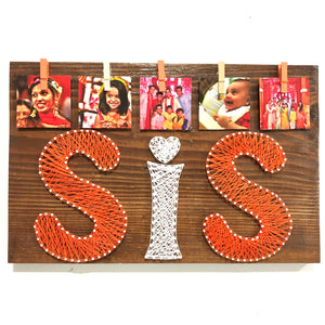 sis thread art gift for rakhi